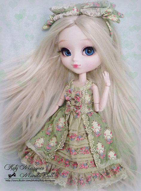 Chrystal ~ Pullip Alice du Jardin by ♥ Kety Marques -Mundo Doll ♥, via Flickr