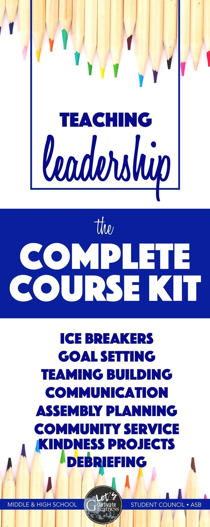 Leadership ASB Student Council Course Mega Bundle | Teambuilding  activities, Students and Activities