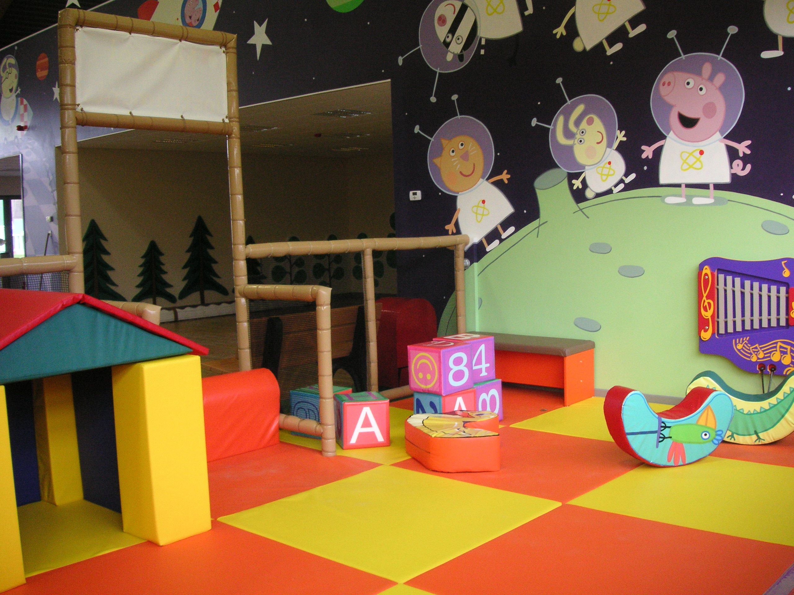George Spaceship Playzone At Peppa Pig In Paultons Park In