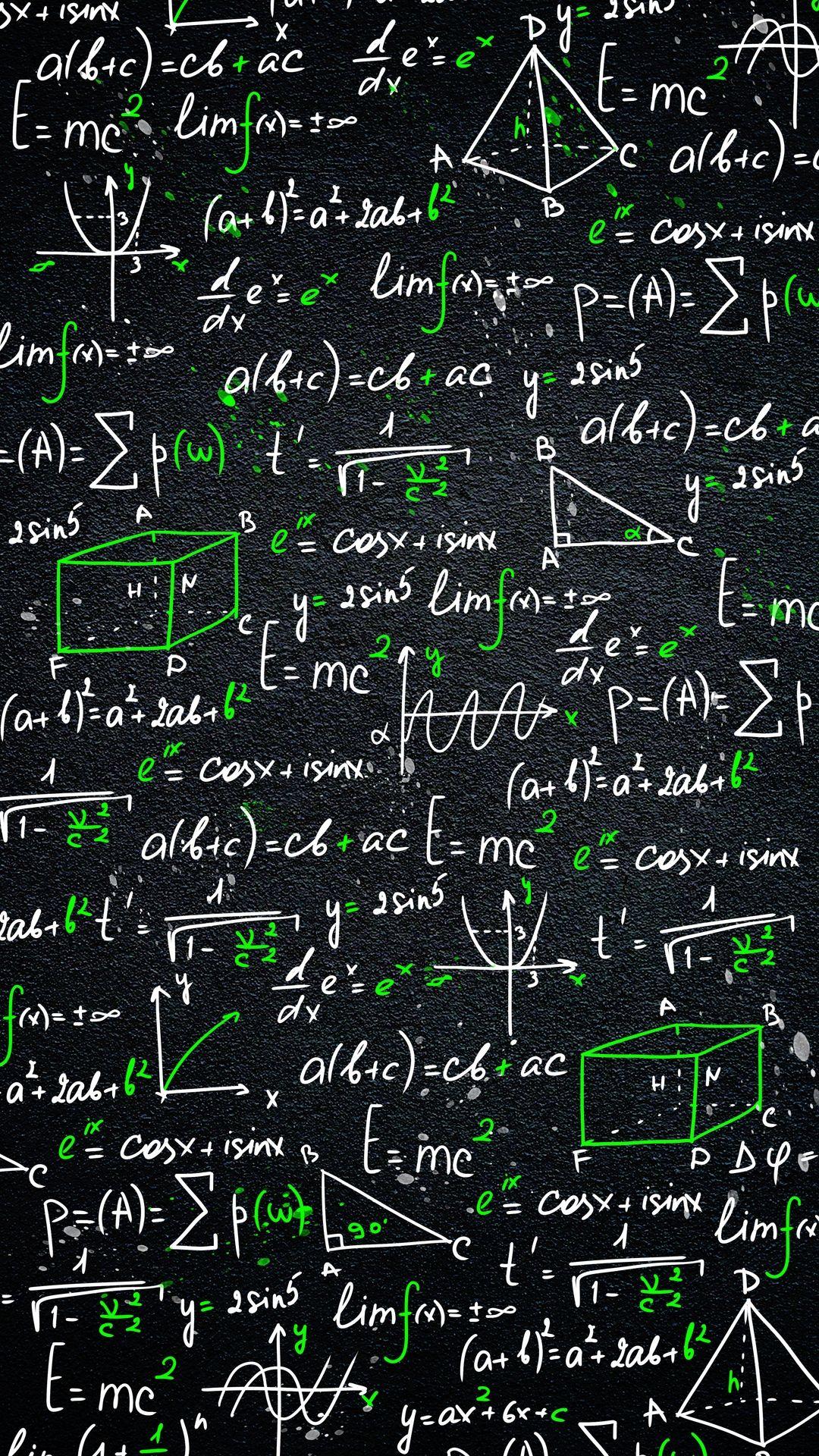 Muchatseble Fisika Buku Catatan Matematika Rumus Kimia