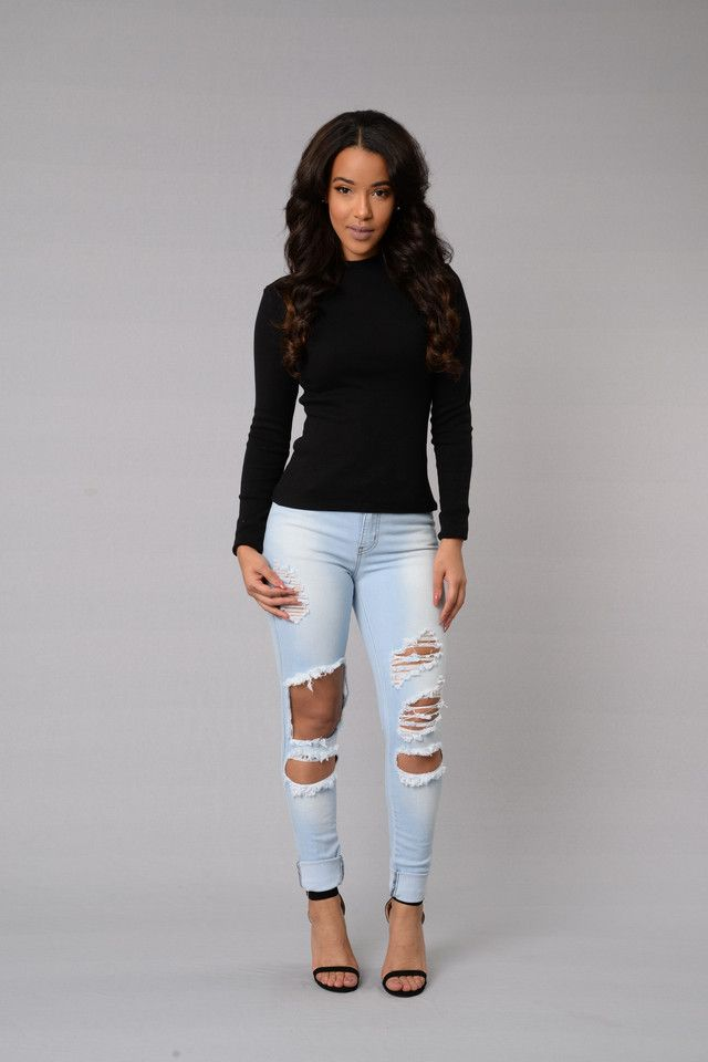 Sweet Disposition Top - Black