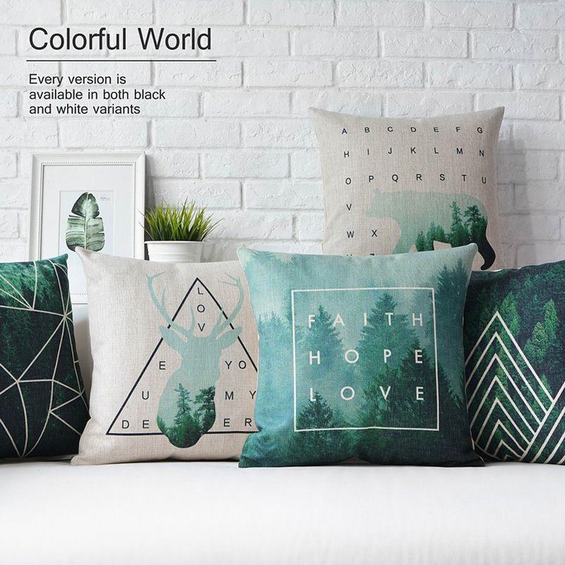 Comprar verde oscuro deer almohada for Proveedores decoracion hogar