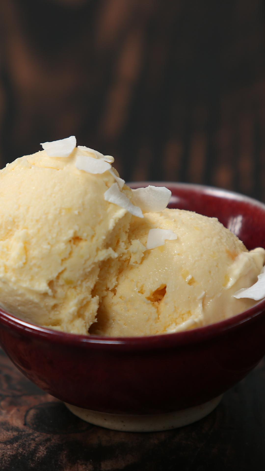 Mango Lassi Ice cream #icecreampopsicle