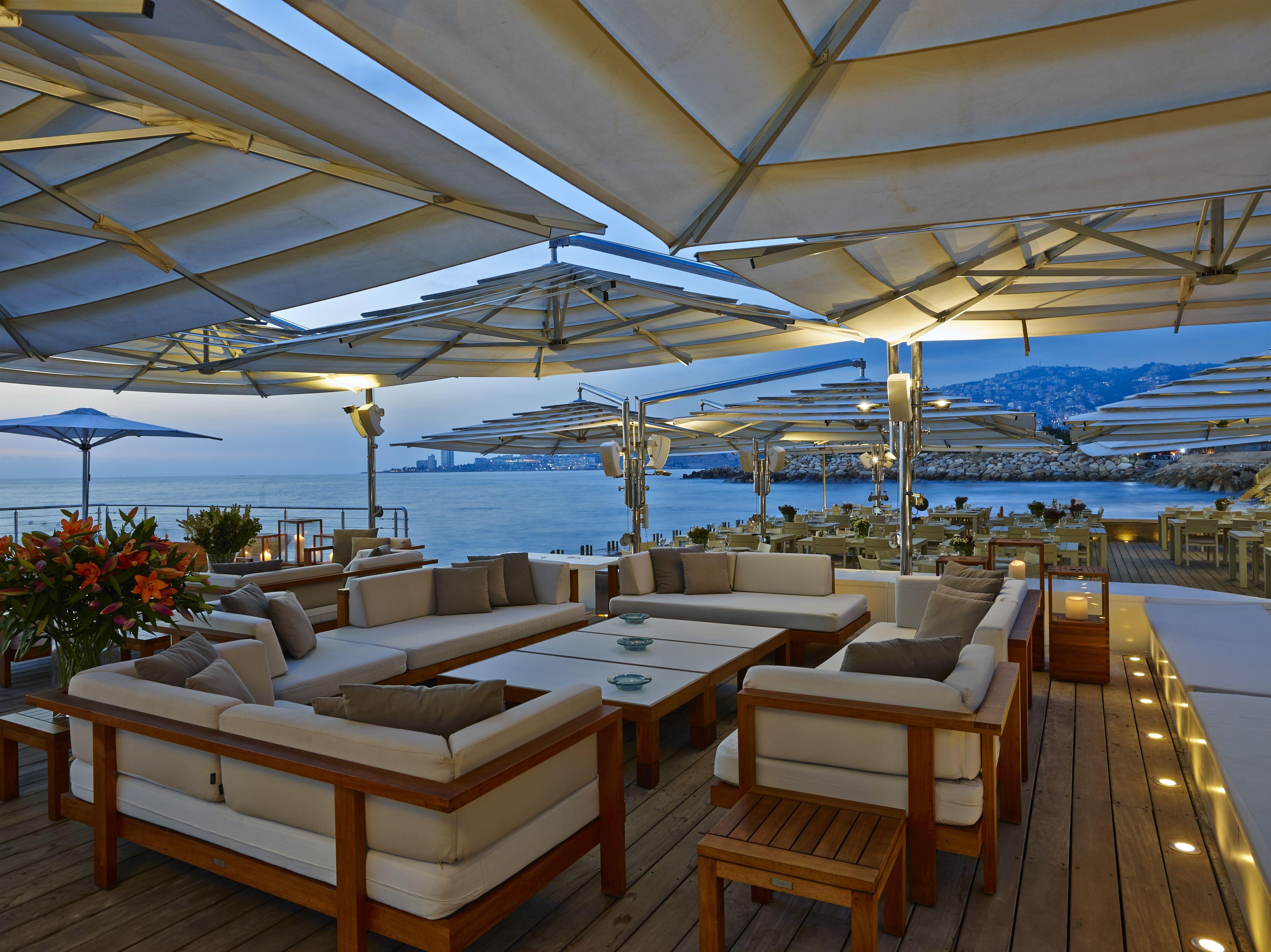 Restaurant Chez Sami in Beirut. Outdoor furniture Pure ...