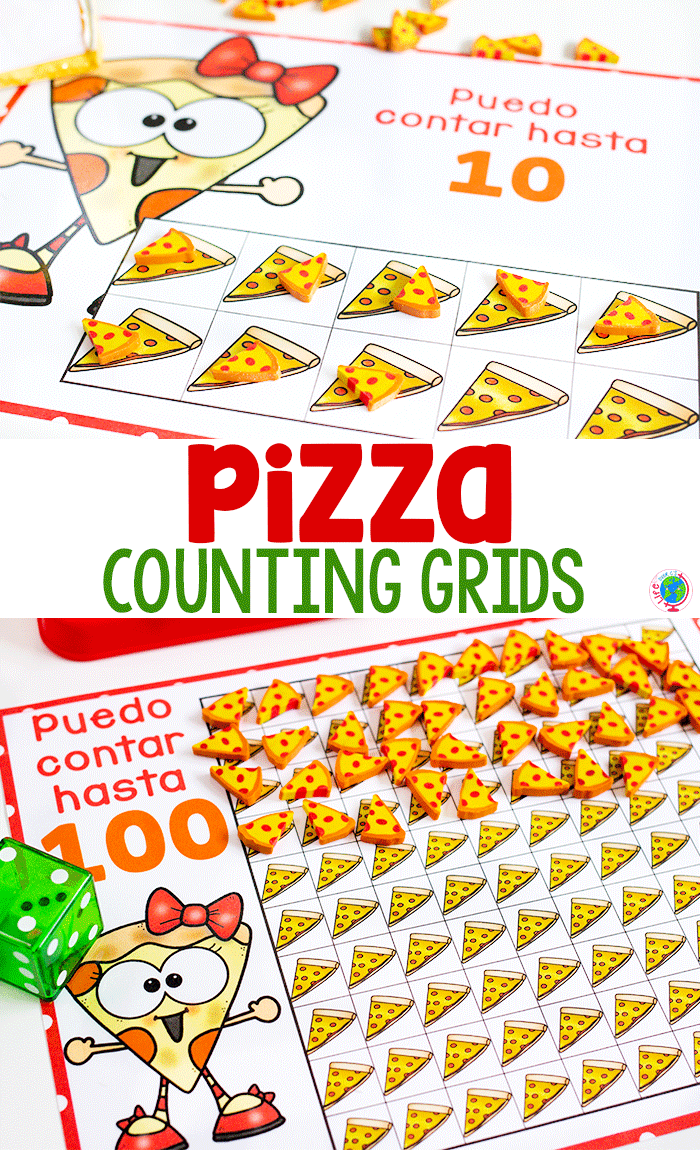 Pizza Counting Grids Help With Simple Math Skills Counting Activities Preschool Rote Counting Activities Counting Activities [ 1150 x 700 Pixel ]
