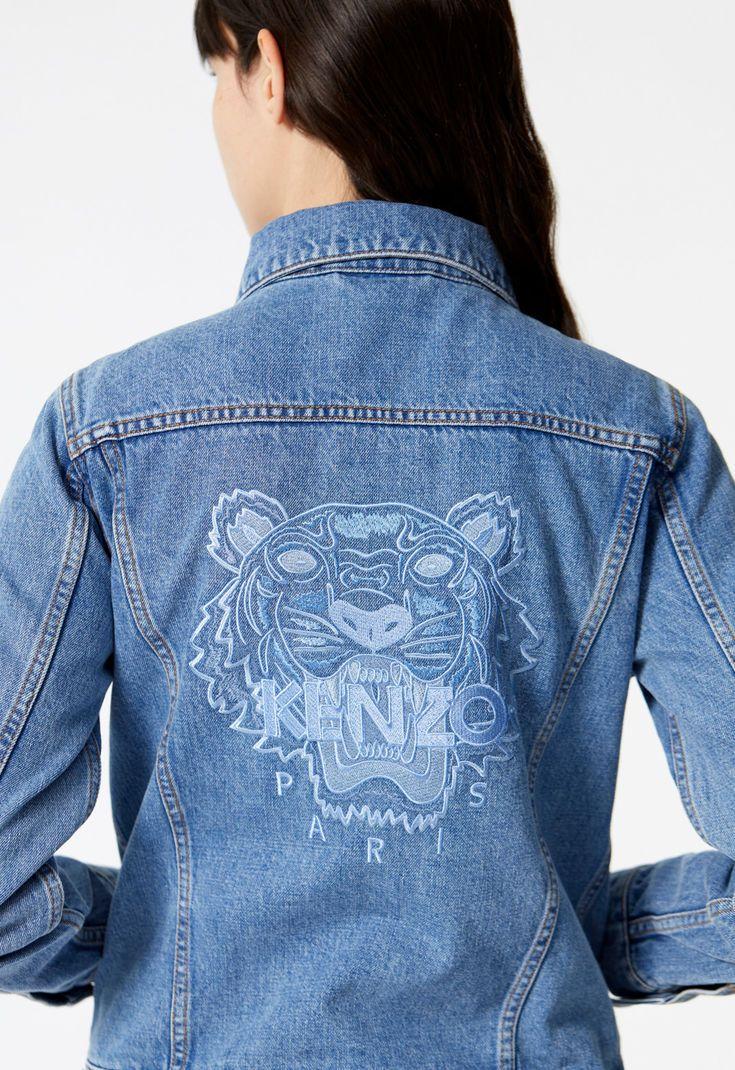 Veste Tigre Femme En Shopping 2018 Kenzo Denim 7rRgr