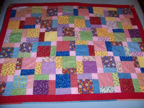 Quilt In A Day Tossed Nine Patch And Split Nine Patch