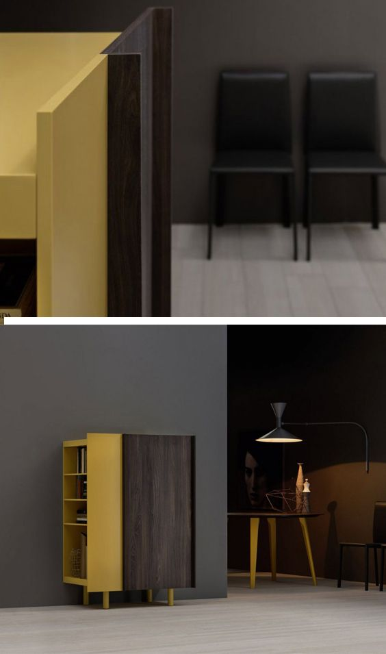 Novamobili Highboard Sessanta - möbel wohnzimmer modern