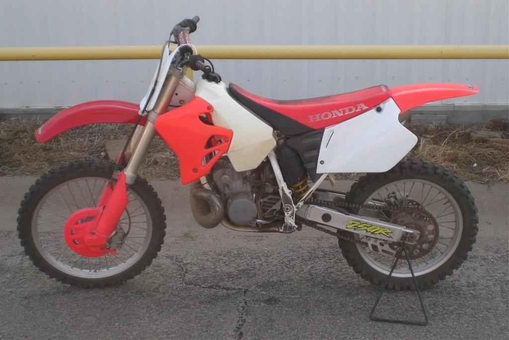 1996 Honda Cr250r Honda Motorcycles For Sale Motorcycle