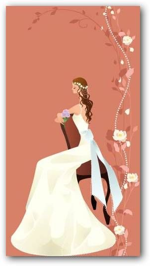 Dibujos de novias para imprimir  Fotos o Imgenes  Portadas para