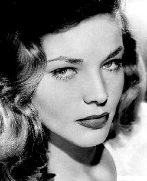 Lauren Bacall - Cross stitch pattern pdf format