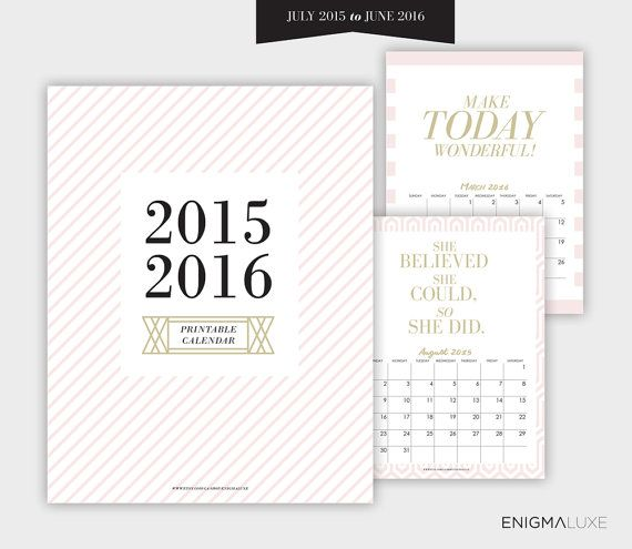 Calendar Organization Quotes : What can be more useful than a free printable