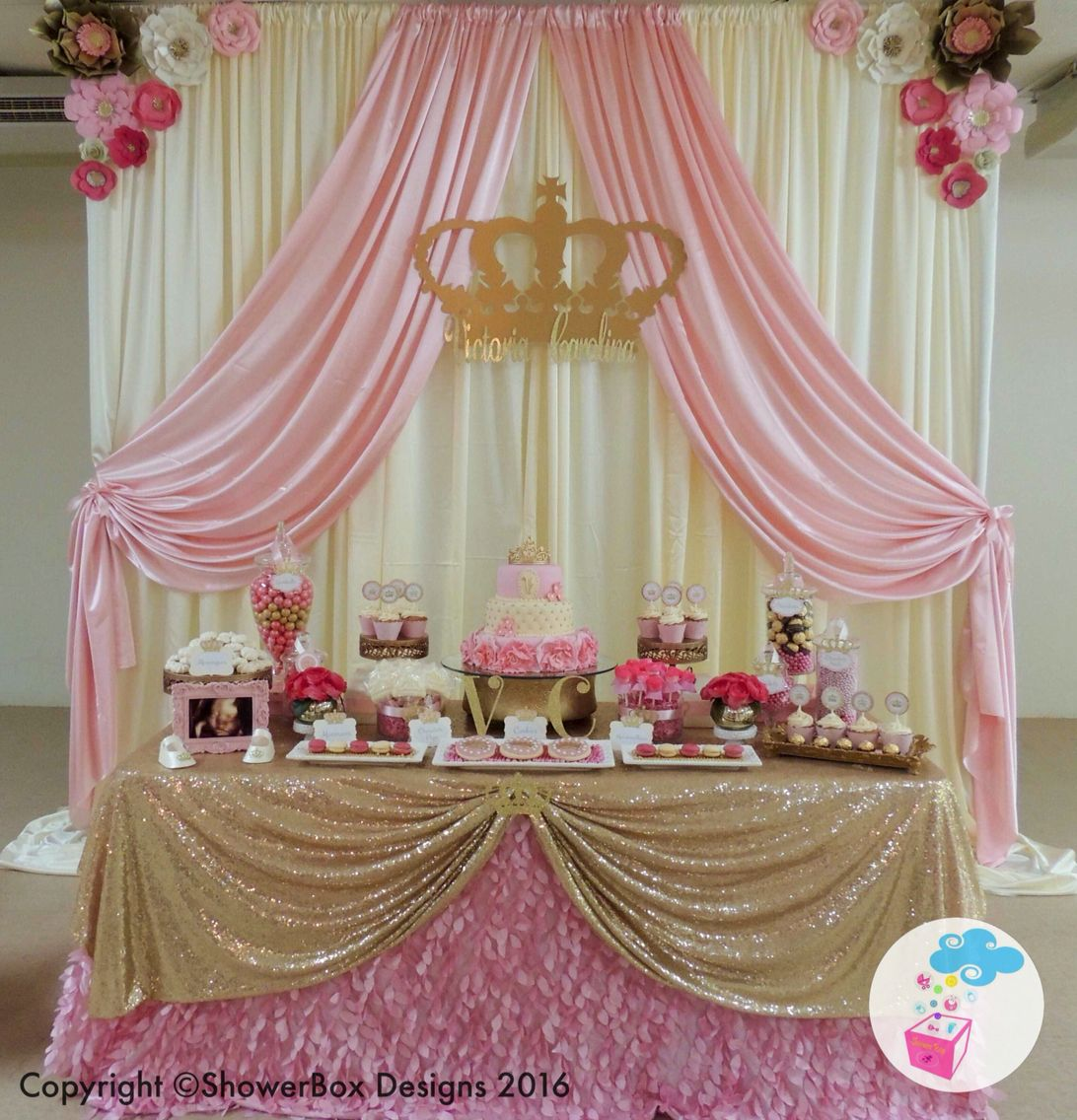 Princess Theme Baby Shower Showerbox Events Like Us On Fb