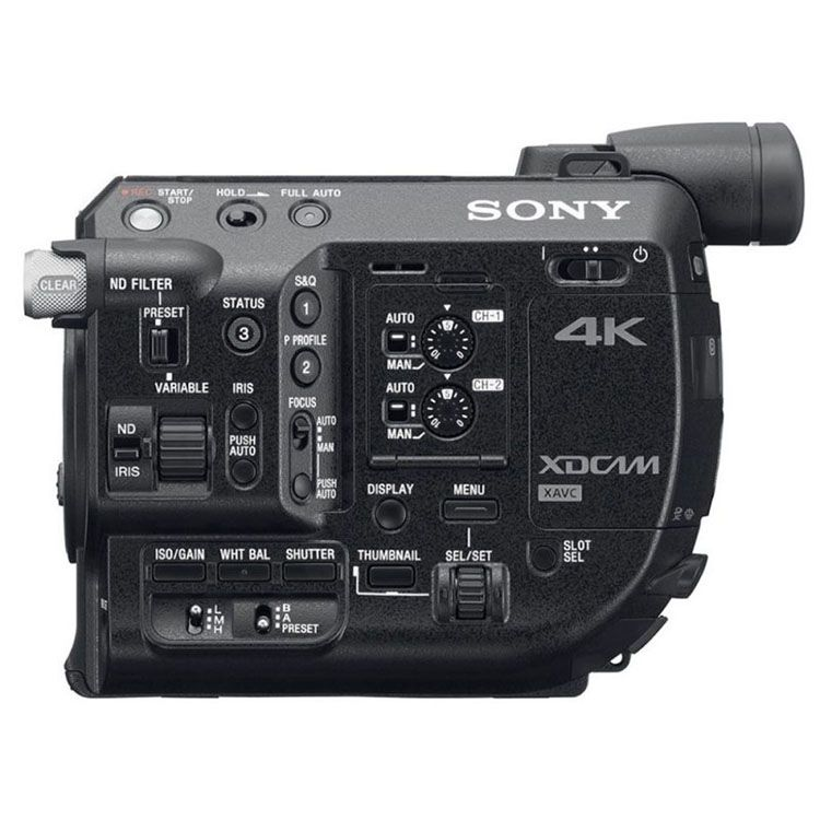 Sony Fs5 Firmware 4 0 Released 1080 120fps Lower Iso For S Log3