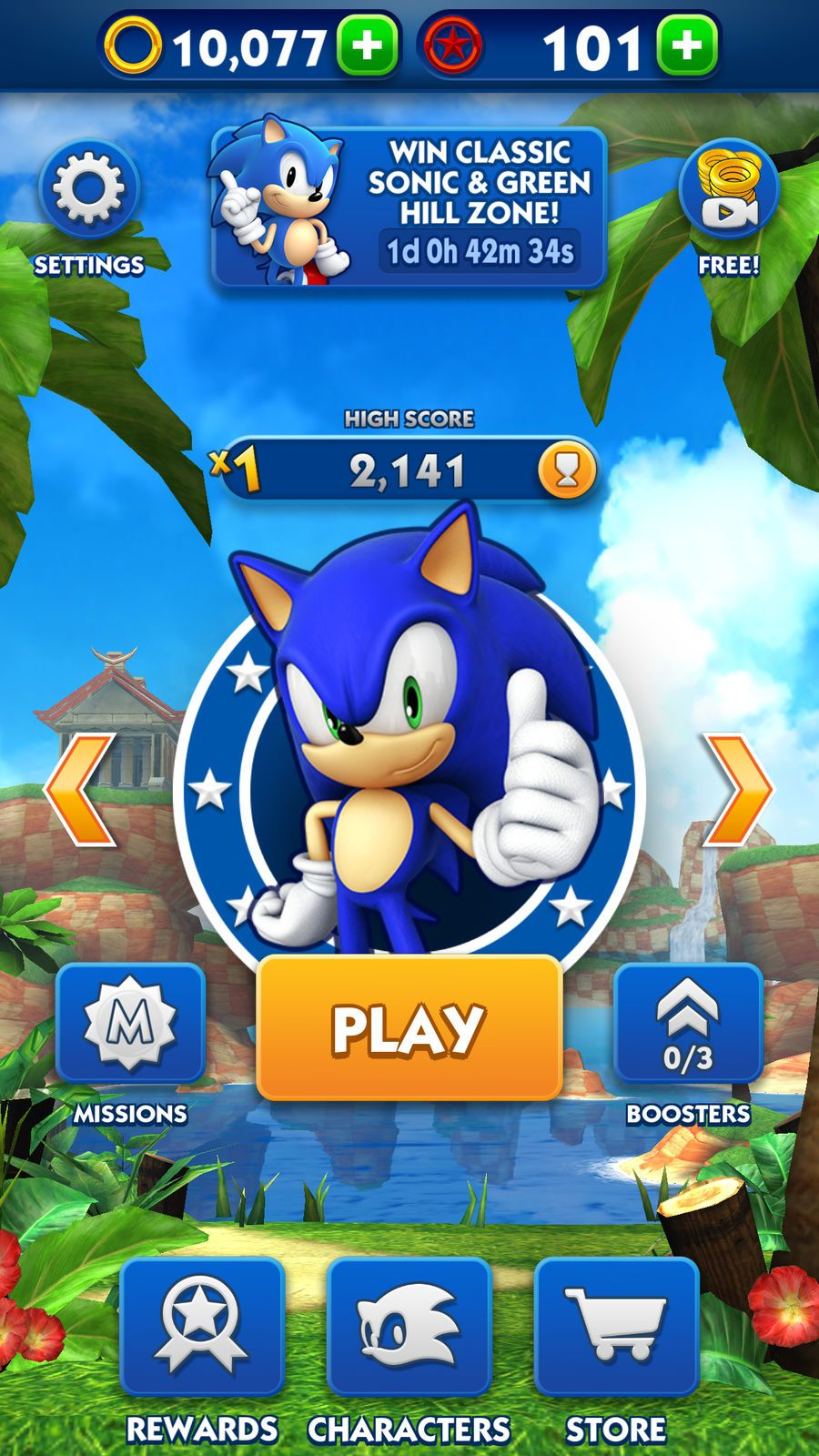 Sonic Dash Arcade Action Apps Ios Sonic Dash Sonic Classic Sonic