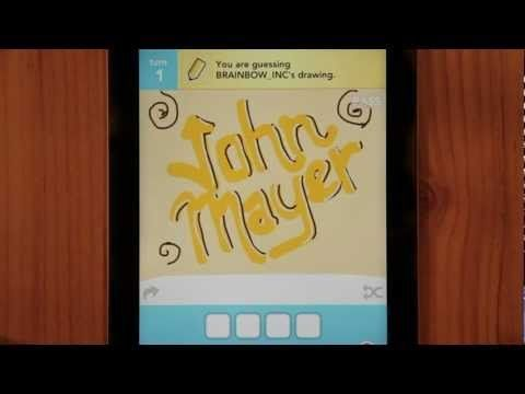 """John Mayer """"Queen of California"""" Draw Something video #PickDeck"""