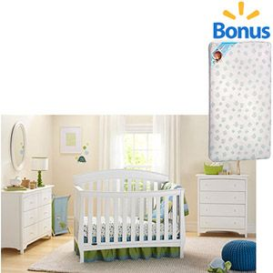 Graco Suri Fixed-Side Convertible Crib, Choose Your Finish with ...