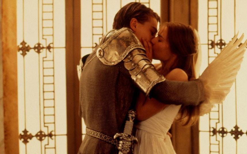 Romeu Julieta 1996 Romeo And Juliet Romeo Juliet 1996 Movie Kisses