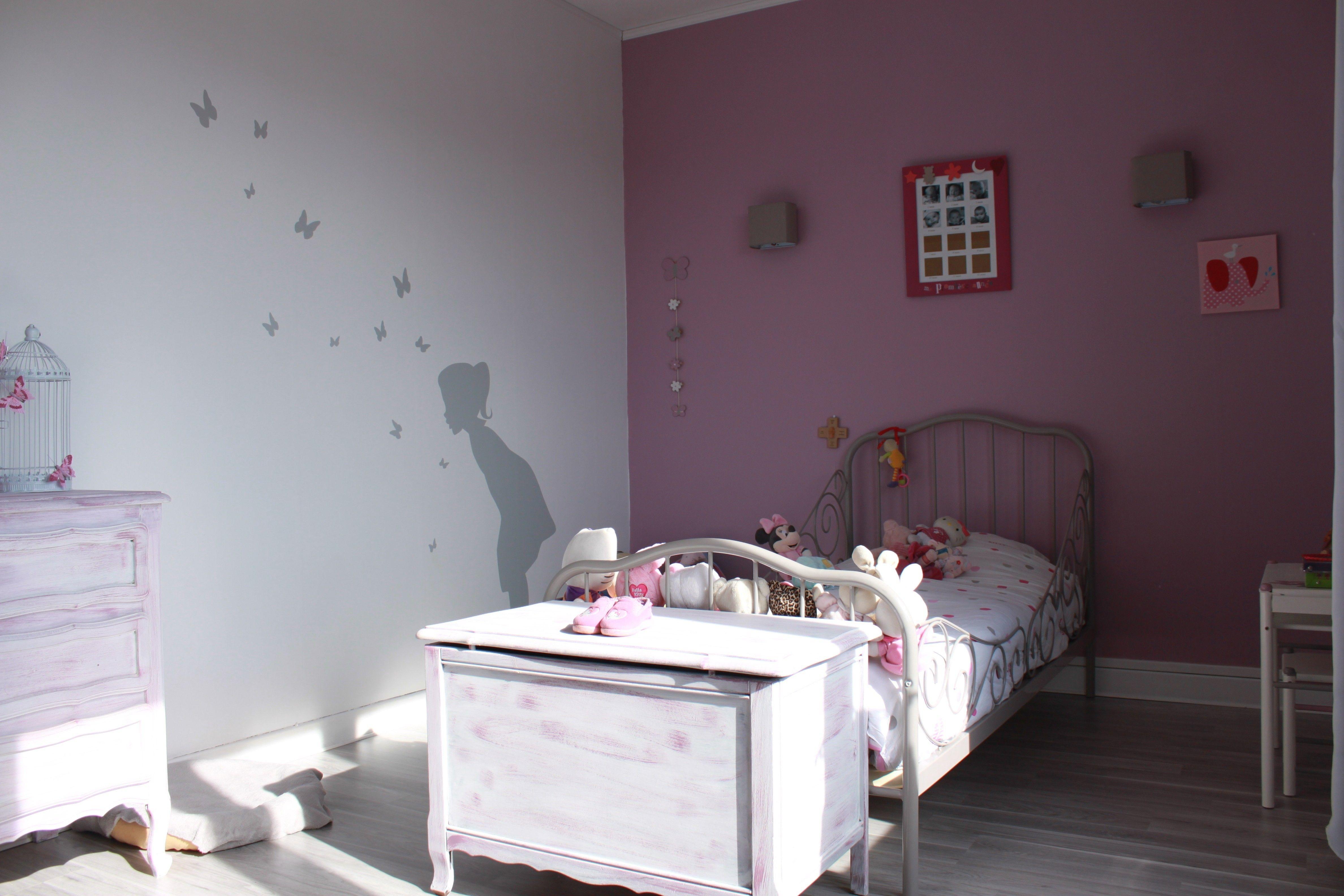Peinture Rose Chambre Fille Violet Mambobc Com Davidreed Co En