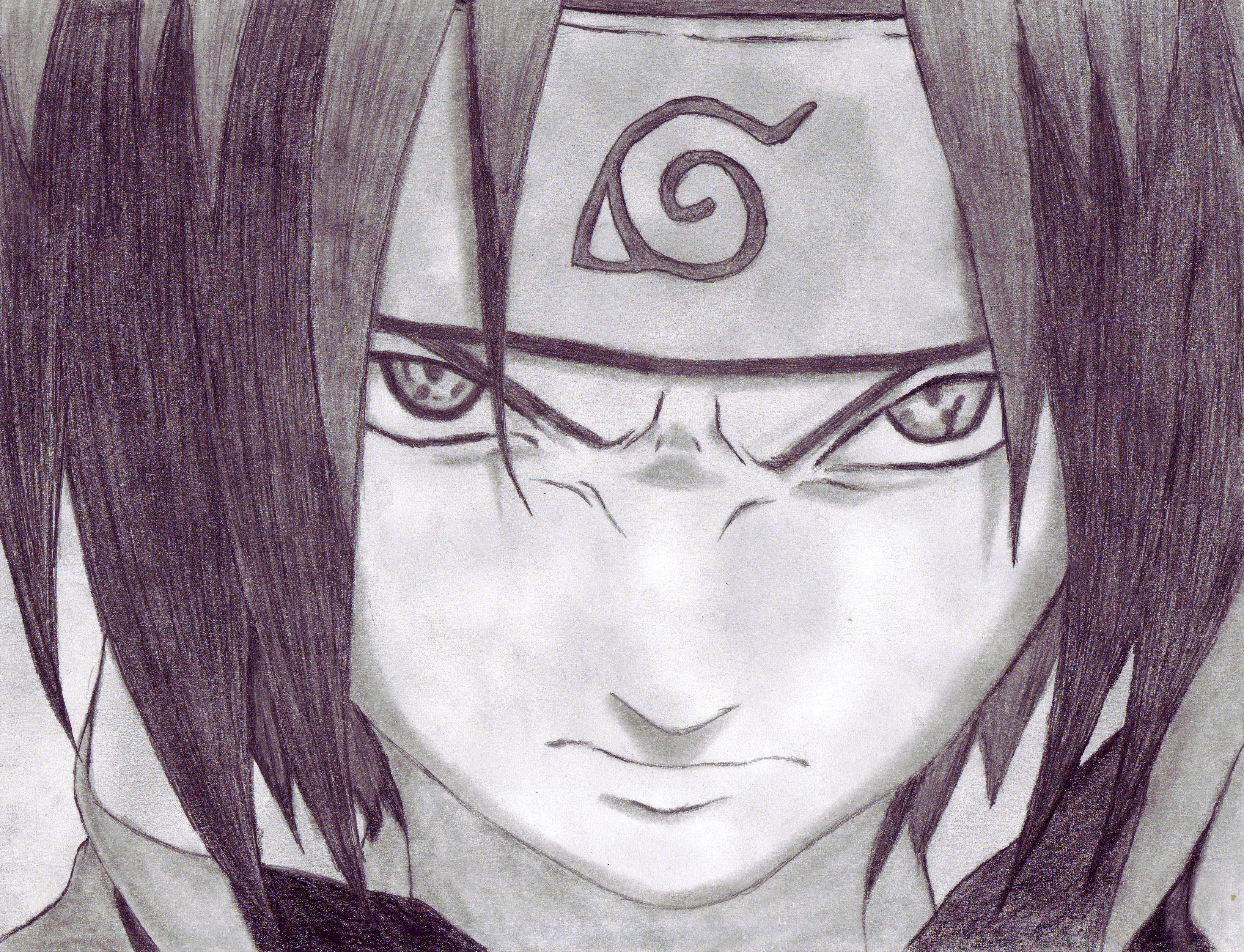 My Sasuke Uchiha From Naruto Drawings Drawing Art Naruto