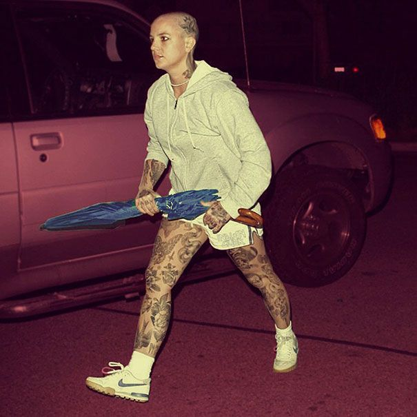 Artist Tattoos Celebrities In Photoshop Tattoo Tatoo And Swag - Artist reimagines celebrities covered in tattoos