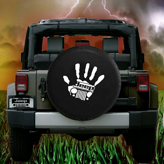 Jeep Hand Tire Cover By Protshirts On Etsy With Images Jeep Tire Cover Jeep Wheel Covers Jeep Covers