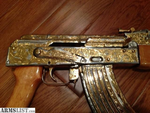 armslist for sale ak47 24k gold two tone hand engraved boobs pinterest ak 47 and guns. Black Bedroom Furniture Sets. Home Design Ideas