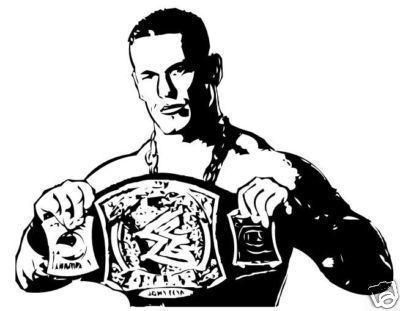 john cena coloring pages  Coloring Pages  Pinterest  John cena