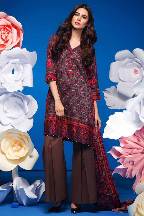 Warda Latest Summer Dresses Printed & Embroidered Collection 2017 ...