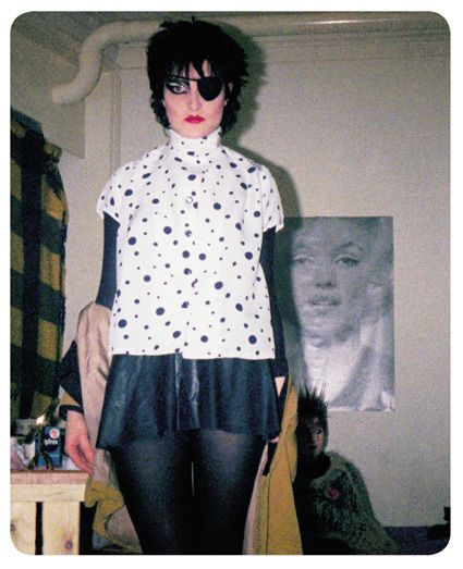 Siouxsie Sioux. Photos by Simon Barker, from Punk's Dead