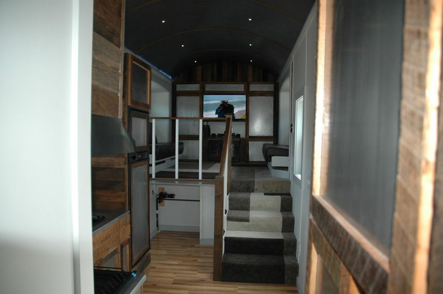 A 320 Square Feet Tiny House With Slide Outs And Built On Gooseneck Trailer In