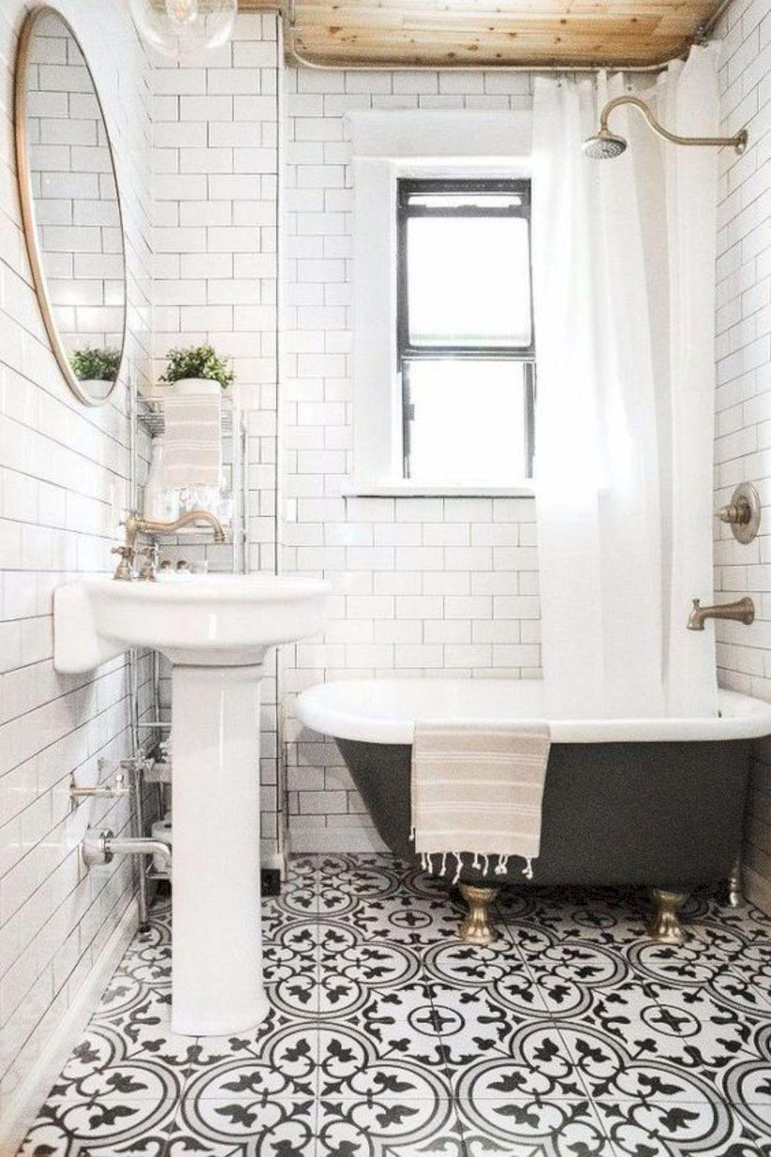 The mirror! 16 Small Bathroom Renovation Ideas https://www ...
