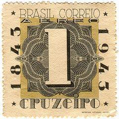 Brazil postage stamp: centenary | Flickr - Photo Sharing!