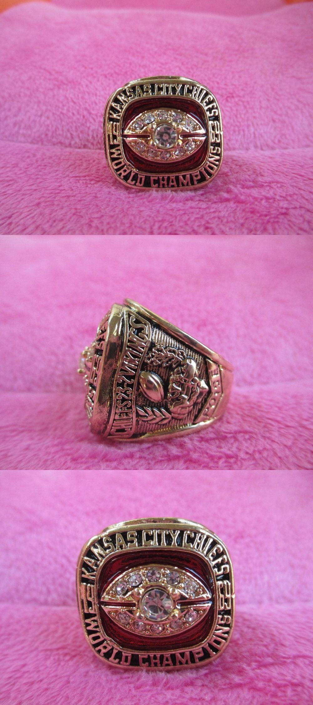 Drop Shipping 1969 Kansas City Chiefs Championship Ring Cincin ...
