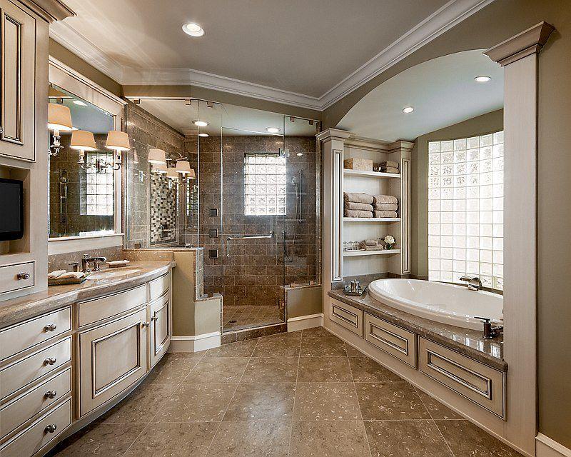 Luxurious Master Bathroom Design Ideas That You Will Love. Bathroom Floor  PlansBathroom ...