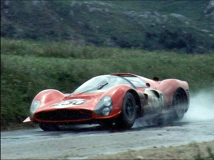 Nino Vaccarella/Lorenzo Bandini - Ferrari 330 P3 Spyder - 1966 Targa Florio