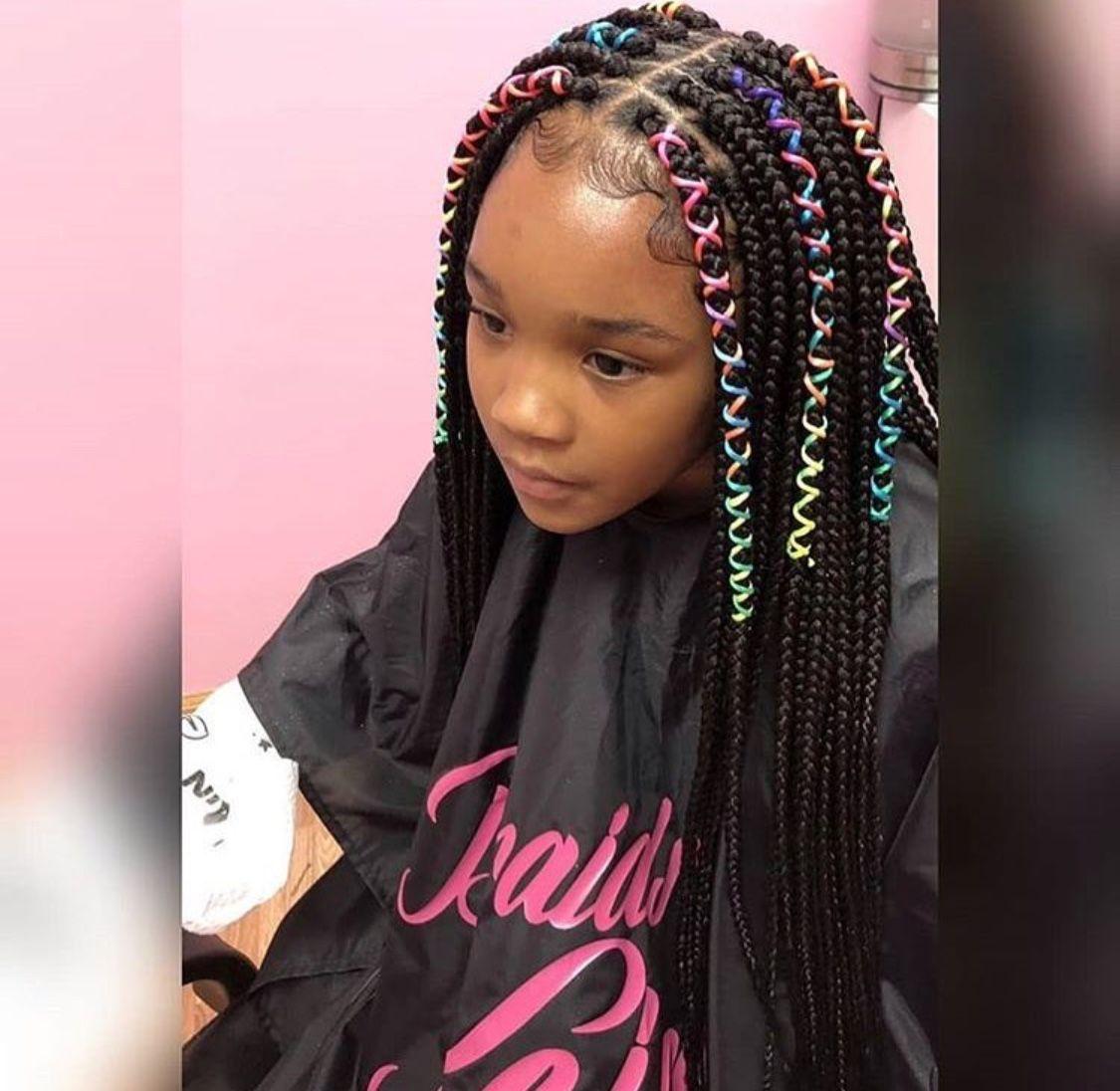 Pinterest Danicaa Hair Styles Braid Styles For Girls Kids Braided Hairstyles