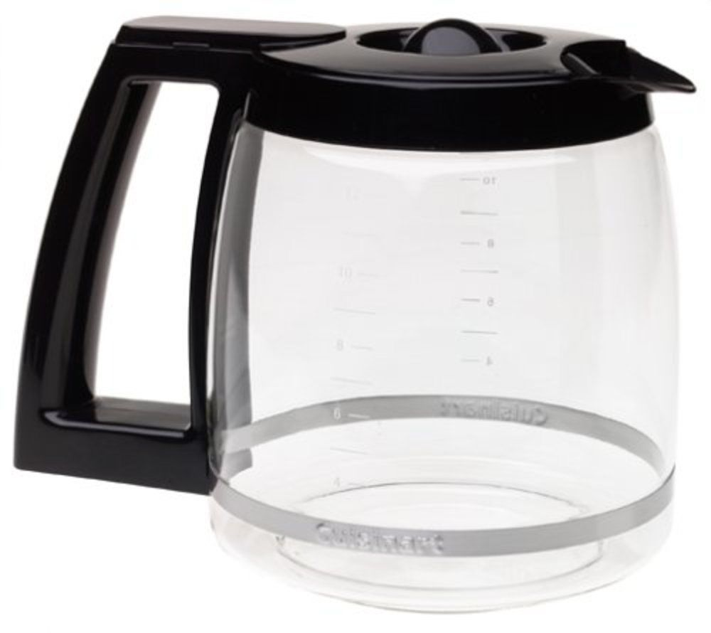 Cuisinart Replacement Glass Carafe Black 12 Cup Coffeemaker