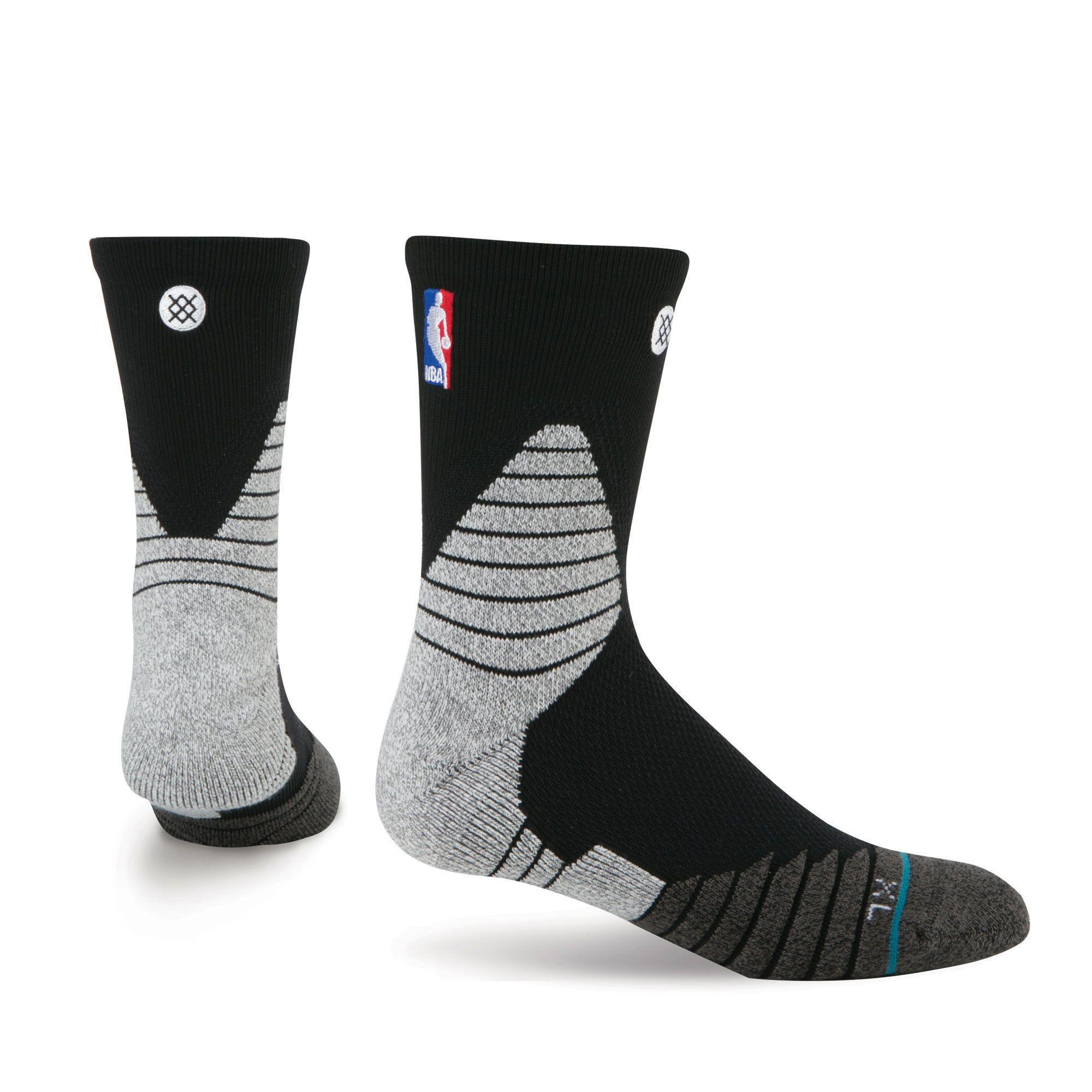 Solid Qtr Mens NBA On Court Socks Stance Nba fashion
