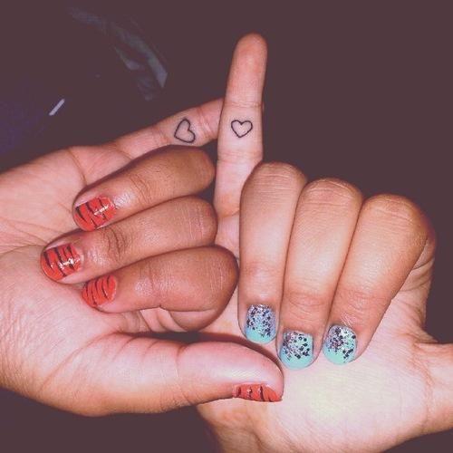 Best Friend Finger Tattoos Pinky Promise Tattoo Promise Tattoo