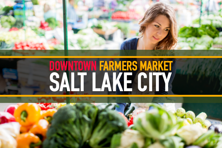 Downtown Farmers Market Salt Lake City Utah