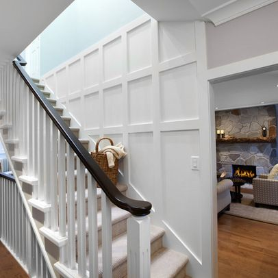 White Panel Molding Design Ideas Pictures Remodel And Decor White Paneling Wainscoting Styles Wainscoting