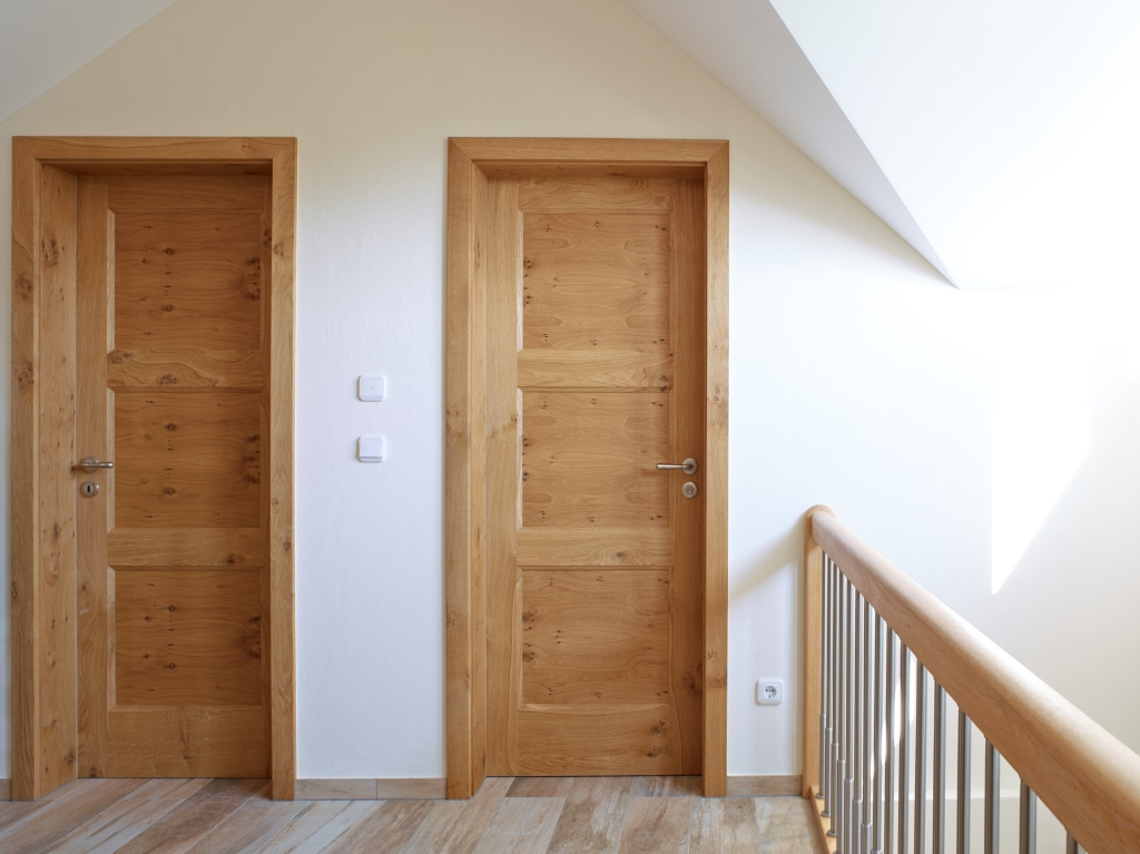Zimmertur Rahmentur Landhaus Eiche Massiv Innenturen Holzturen Innen Landliche Hauser