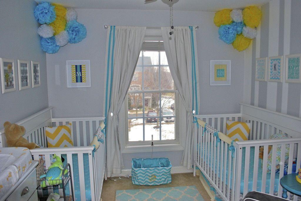 Project Nursery   Neutral Twins Nursery