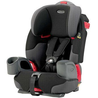 Graco Nautilus Car Seat - Charcoal great as it has a cup holder ...