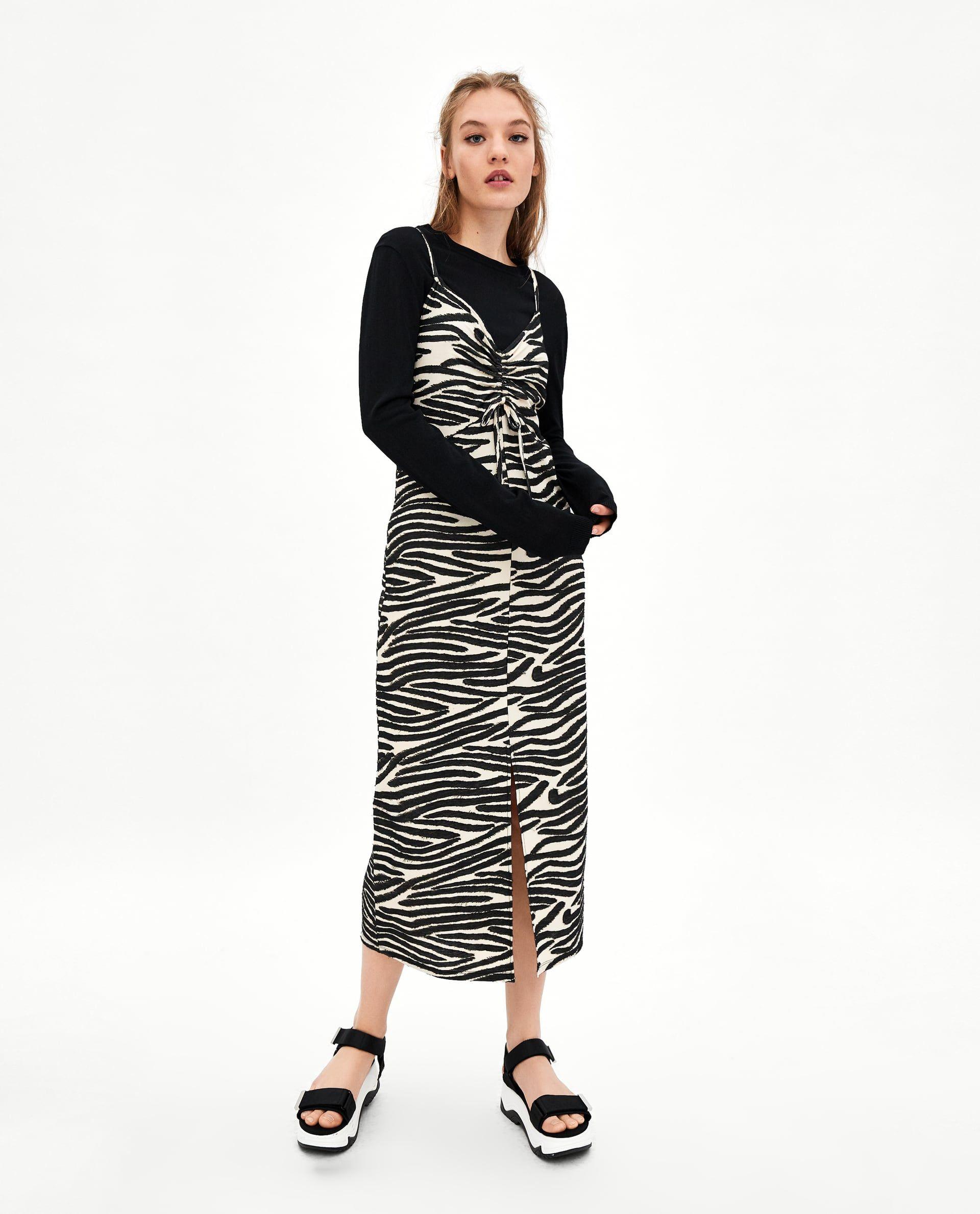 precio justo mejor venta el precio más bajo VESTIDO LENCERO CEBRA   dresses/jumpsuits!   Animal print ...