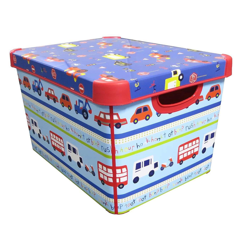 Transport Storage Box Dunelm Boy Toddler Bedroom Kids Storage