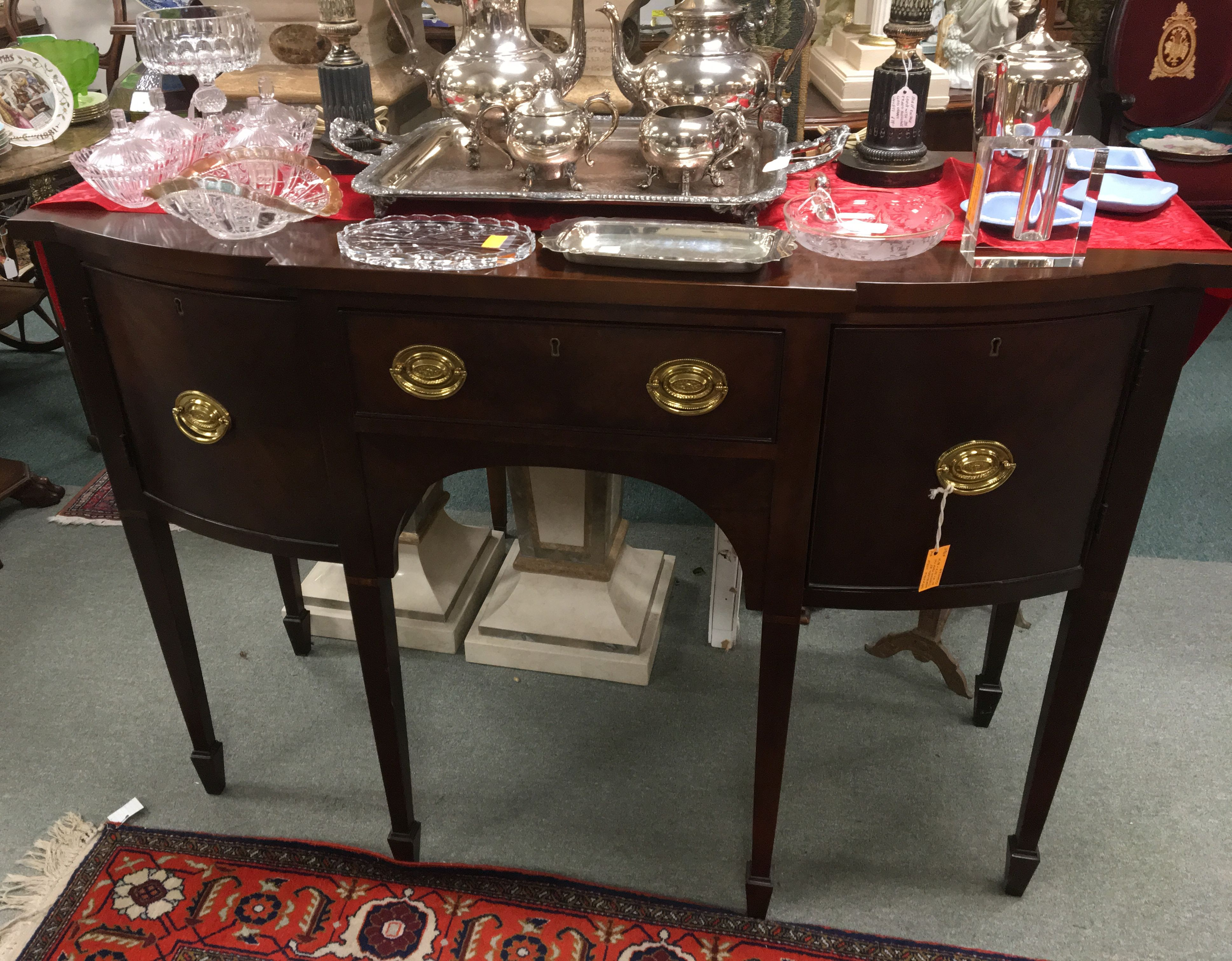 Colombo Mobili ~ Colombo mobili marble top night stands antique and vintage