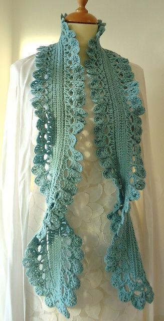 Scarf Pattern in book - Cute & Easy Crochet..