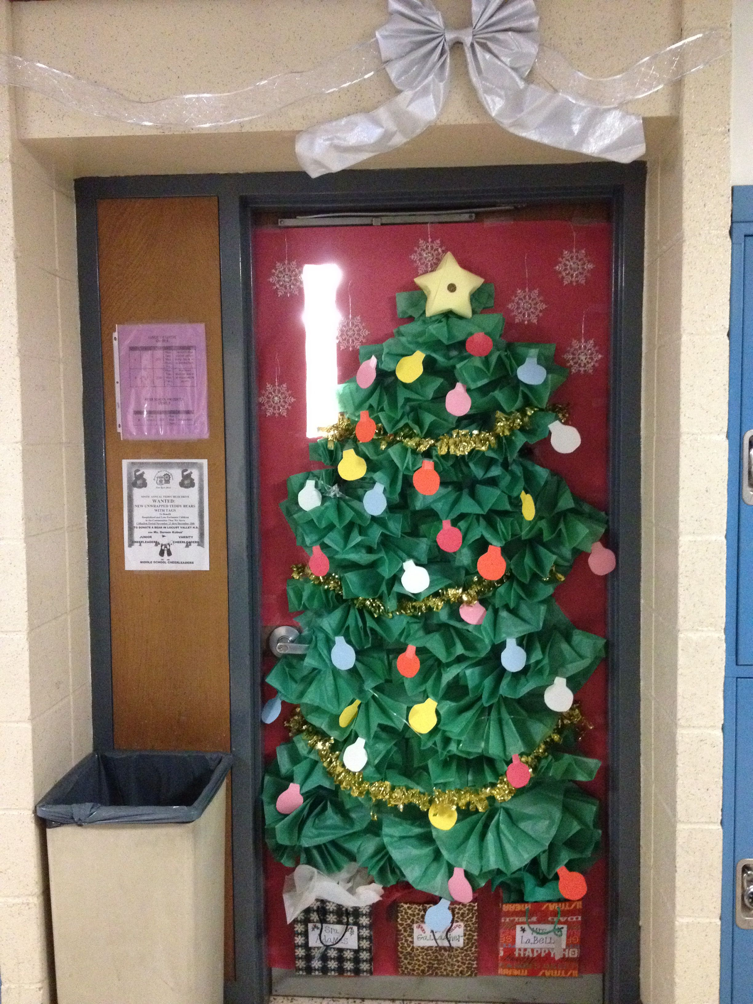 This Is The One Holiday Classroom Doors Librarians